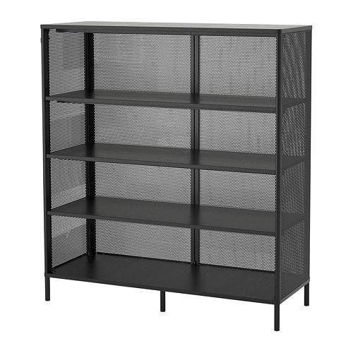 【IKEA/イケア/通販】 BEKANT ベカント シェルフユニット, ブラック(a)(90373496)