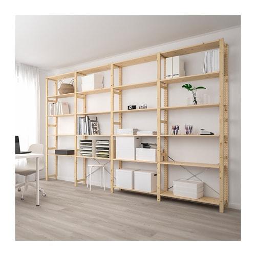 【IKEA/イケア/通販】 IVAR イーヴァル 4セクション/棚板, パイン材(a)(S79248545)