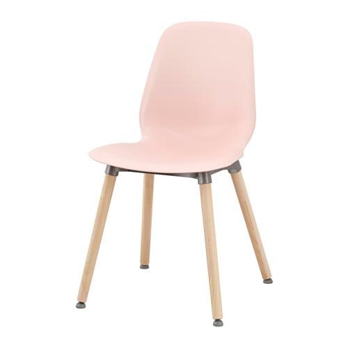 【IKEA/イケア/通販】 LEIFARNE レイフアルネ チェア, ピンク, エルンフリード バーチ(c)(S79219519)