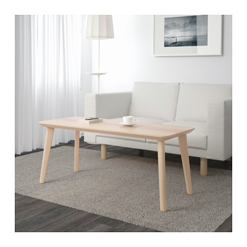【IKEA/イケア/通販】 LISABO リーサボー コーヒーテーブル, アッシュ材突き板(d)(10353063)
