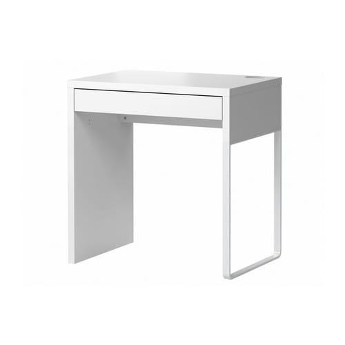 IKEA イケア ホームオフィス デスク コンピューターデスク デスクトップコンピューター用デスク 期間限定 ホワイト 通販 入荷予定 d ミッケ MICKE 80354281 時間指定不可