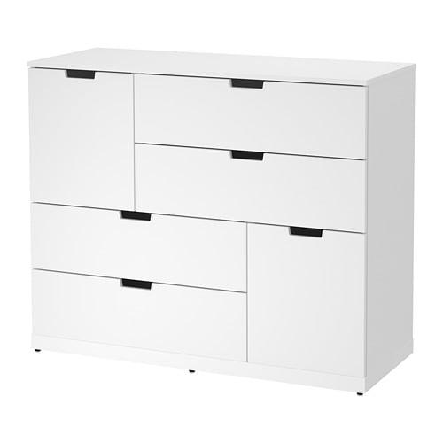 【IKEA/イケア/通販】 NORDLI ノールドリ チェスト(引き出し×6), ホワイト(a)(S49276634)