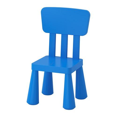 IKEA イケア キッズ スモール家具 激安通販販売 チェア 通販 MAMMUT マンムット ブルー 室内 公式通販 屋外用 子供用チェア 00365349 e