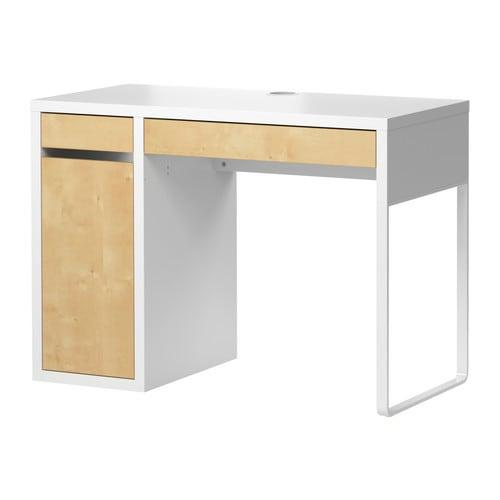 【期間限定】【IKEA/イケア/通販】 MICKE ミッケ デスク, ホワイト, バーチ調(d)(20299179)
