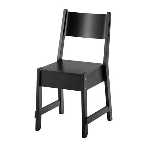 【IKEA/イケア/通販】 NORRÅKER ノッルオーケル チェア, ブラック(d)(80362691)