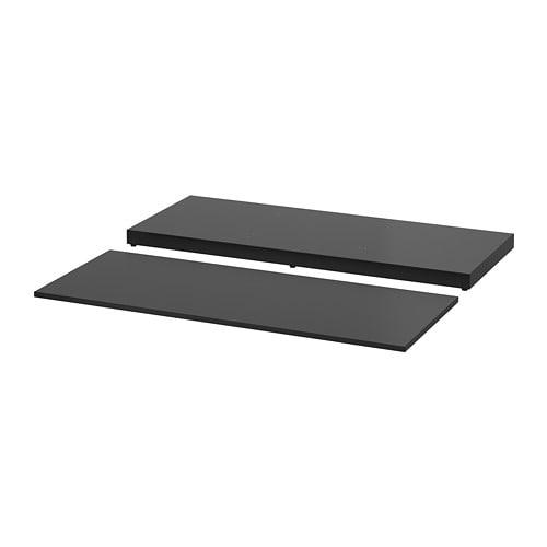 【IKEA/イケア/通販】 NORDLI ノールドリ 天板&底板, チャコール(a)(60365997)