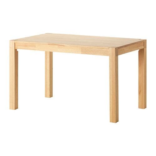 【期間限定】【IKEA/イケア/通販】 NORDBY ノールドビー テーブル, ゴムノキ(d)(60237783)