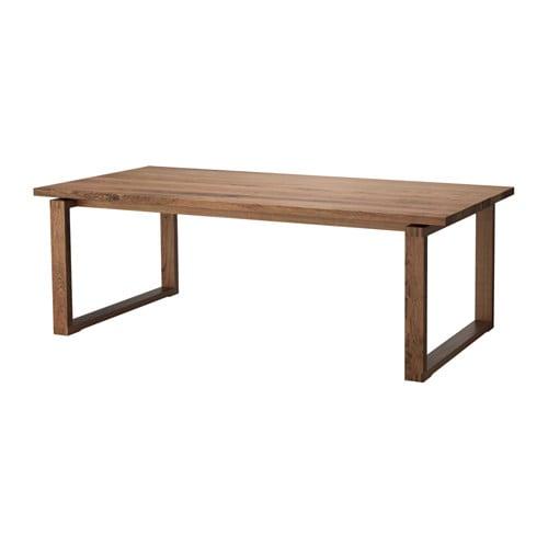 【IKEA/イケア/通販】 MÖRBYLÅNGA モールビロンガ テーブル, オーク材突き板 ブラウンステイン(a)(80365802)