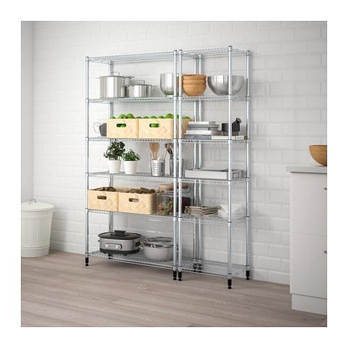 【IKEA/イケア/通販】 OMAR オマル 2シェルフセクション(a)(S59872920)