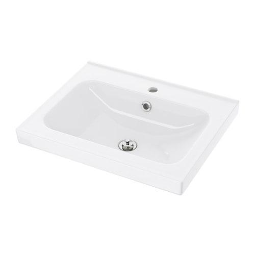 【IKEA/イケア/通販】 ODENSVIK オーデンスヴィーク シングル洗面ボウル(d)(30195553)