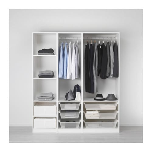 【IKEA/イケア/通販】 PAX パックス ワードローブ, ホワイト(a)(S29251724)