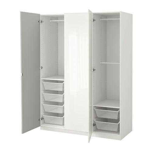 【IKEA/イケア/通販】 PAX パックス ワードローブ, ホワイト, ファルダル ヴィーケダール(a)(S49244935)