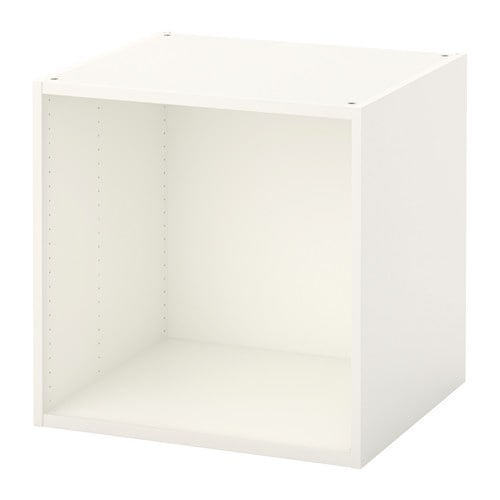 【IKEA/イケア/通販】 PLATSA プラッツァ フレーム, ホワイト(d)(30387482)