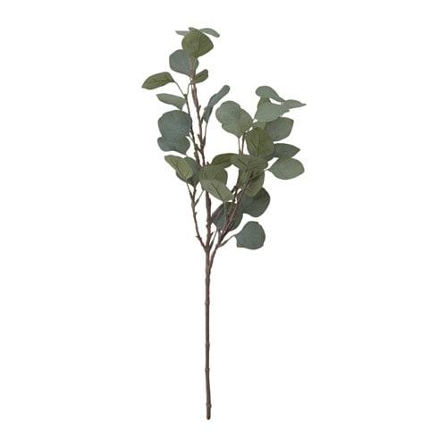 IKEA(イケア)/デコレーション/植物、鉢&鉢カバー、プラントスタンド/人工観葉植物造花 【IKEA/イケア/通販】 SMYCKA スミッカ フェイクリーフ, ユーカリ, グリーン(a)(00335772)