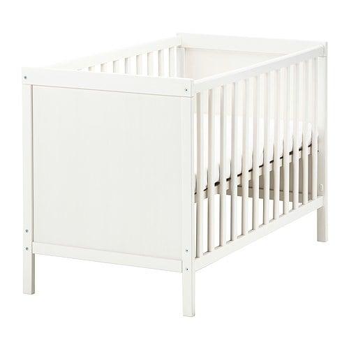 【IKEA/イケア/通販】 SUNDVIK スンドヴィーク ベビーベッド, ホワイト(a)(00372156)
