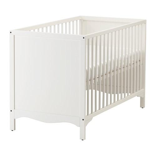 【IKEA/イケア/通販】 SOLGUL ソルグル ベビーベッド, ホワイト(a)(00362416)