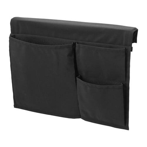 【IKEA/イケア/通販】 STICKAT スティッカート ベッドポケット, ブラック(a)(60378339)