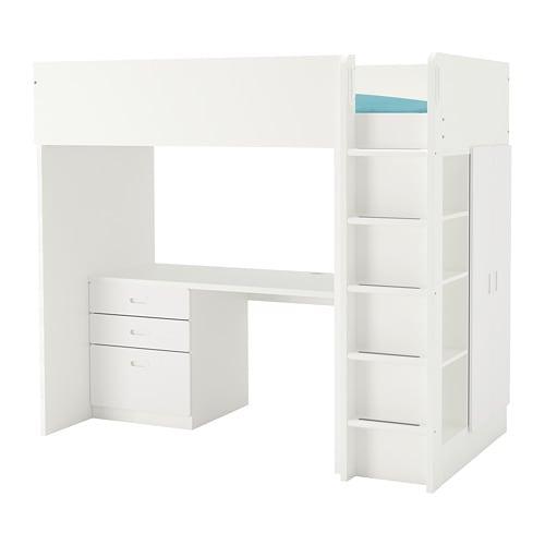 大きな割引 【IKEA/イケア//通販 フリーティズ】 STUVA ストゥヴァ/ ロフトベッドフレーム FRITIDS フリーティズ ロフトベッドフレーム デスク&収納付き(引き出し×3/扉×2), ホワイト, ホワイト(a)(S69253434)【商品】, SCWORLDPLUS:5218edf0 --- kventurepartners.sakura.ne.jp