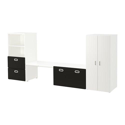 【IKEA/イケア/通販】 STUVA ストゥヴァ / FRITIDS フリーティズ 収納コンビネーション, ホワイト, 黒板(a)(S49267267)