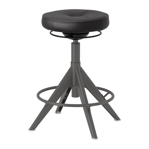 【IKEA/イケア/通販】 TROLLBERGET トロルベルゲット アクティブ シット/スタンド サポート, グローセ ブラック(a)(80388257)