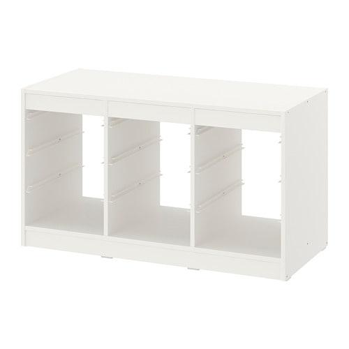 【IKEA/イケア/通販】 TROFAST トロファスト フレーム, ホワイト(c)(60351434)【送料無料】