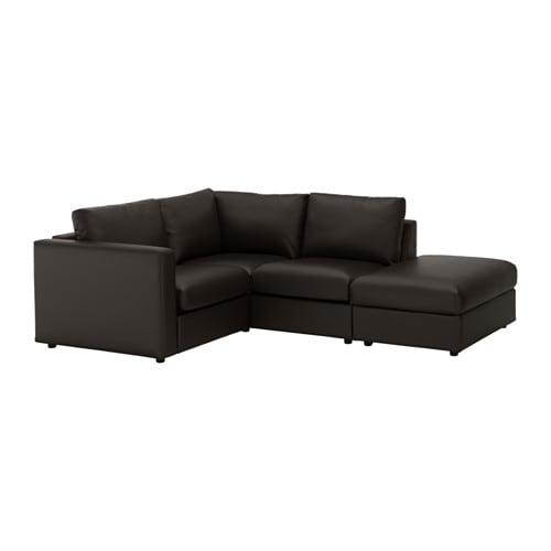 【正規品質保証】 【IKEA ヴィムレ/イケア/通販】 VIMLE ヴィムレ コーナーソファ オープンエンド,、3人掛け, オープンエンド, VIMLE ファールスタ ブラック(a)(S19211535), 白沢村:6518cfb3 --- hortafacil.dominiotemporario.com
