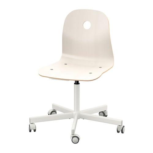 【IKEA/イケア/通販】 VÅGSBERG ヴォーグスベリ / SPORREN スポーレン 回転チェア, ホワイト(c)(S69006684)