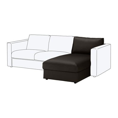【IKEA/イケア/通販】 VIMLE ヴィムレ 寝椅子セクション, ファールスタ ブラック(c)(40353410)