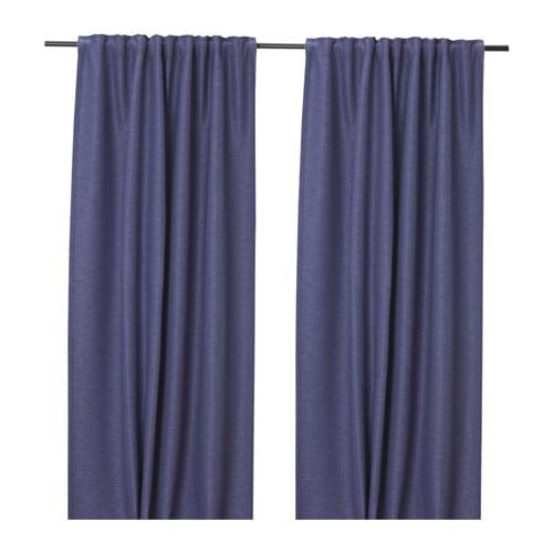 【IKEA/イケア/通販】 VILBORG ヴィルボリ カーテン1組, ライラック(c)(20385916)