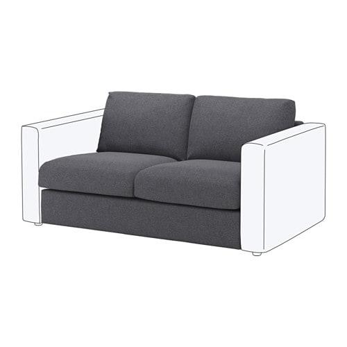 【IKEA/イケア/通販】 VIMLE ヴィムレ 2人掛けソファセクション, グンナレド ミディアムグレー(a)(S79219500)