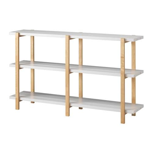【IKEA/イケア/通販】 YPPERLIG イッペルリグ シェルフユニット, ライトグレー, バーチ(a)(60346862)