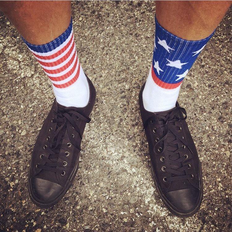 スーパーセール 50%OFF 70年代半ばの南カリフォルニアスタイル SOCCO ソッコ CrewSock お求めやすく価格改定 StarSpangled 靴下 ソックス レディース メンズ ストリート 新発売 スケボー
