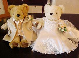 ★熊本のショップです 頑張ります!★ 【送料無料】選べるカラー! ウェルカムアイテムとしても最適 結婚のお祝いにも 大きさ22cm ウェルカムベア=タキシード・ドレス=