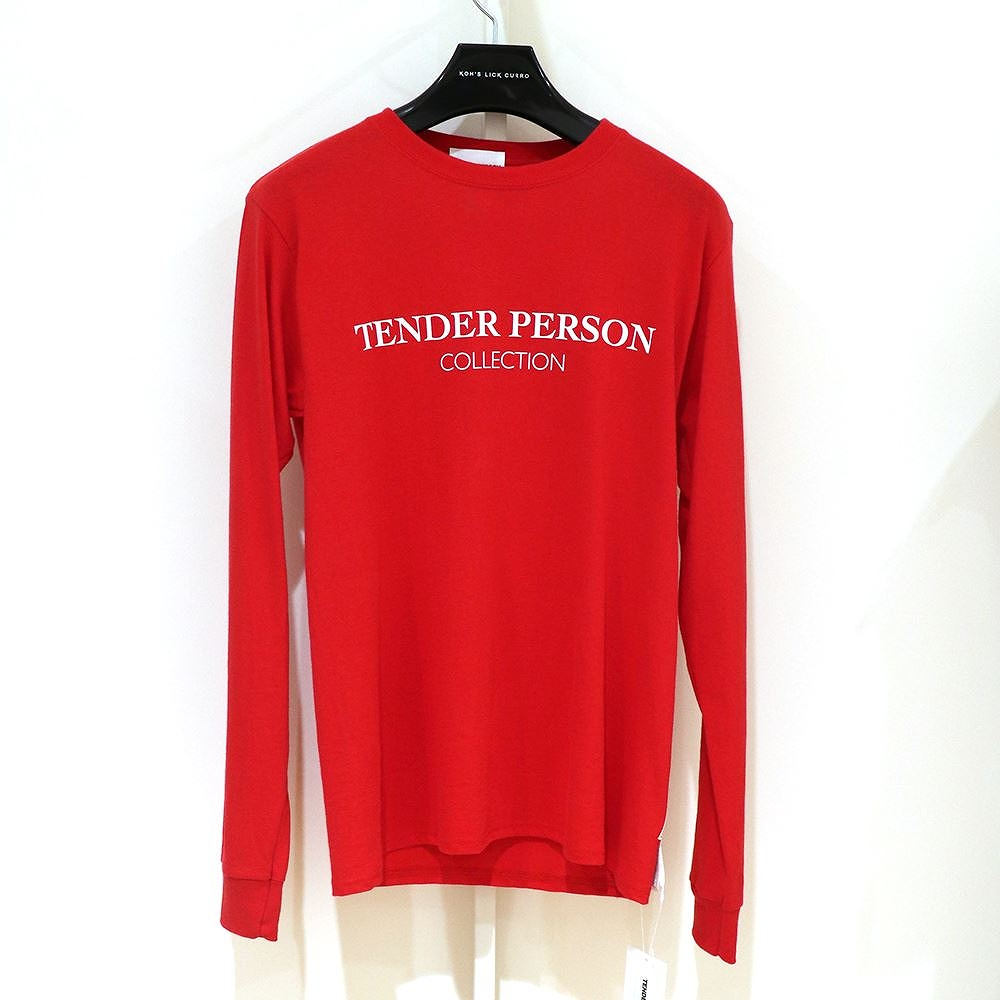 ★送料無料★TENDER PERSON / ADVRETISMENT LOING TEE TENDER PERSON,テンダーパーソン,メンズ,トップス,MENS