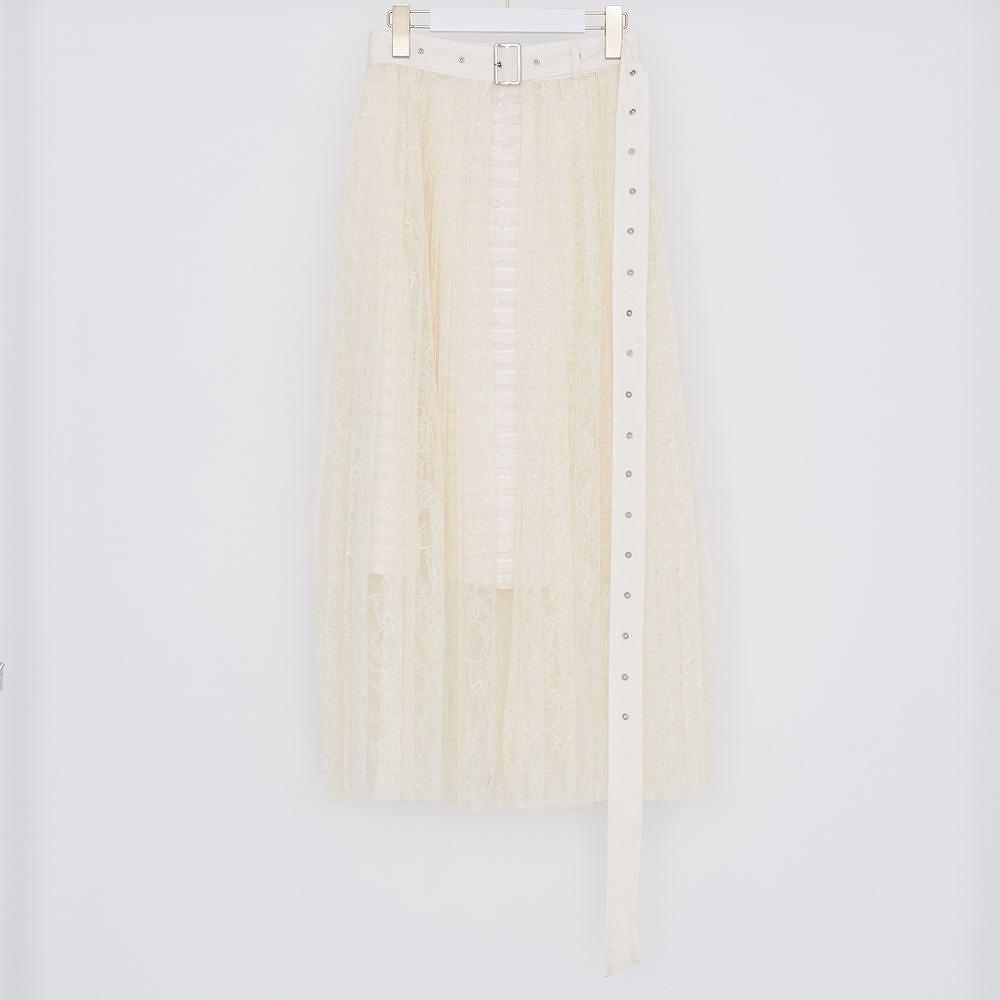 ★送料無料★NUMBERCODE / see-through layered lace skirt NUMBERCODE,ナンバーコード,レディス,スカート,LADIES