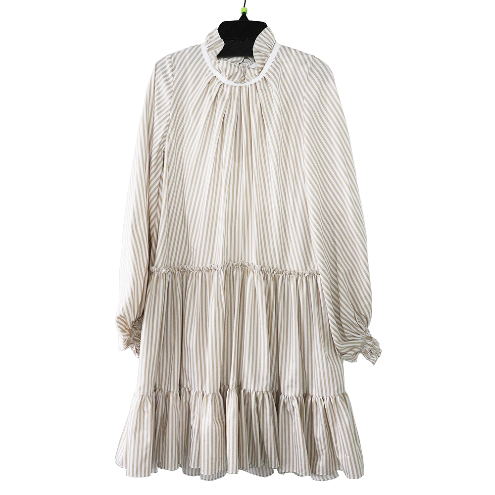 ★送料無料★3.1Phiillip Lim / LS STRIPED ALINE MINI DRESSLADIES,ワンピース・ドレス 2019SS