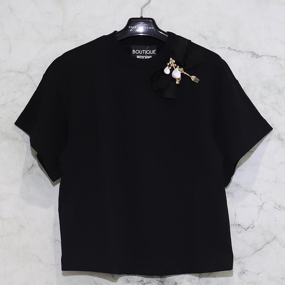 【最大2000円引きCP配布】MOSCHINO / ブローチTシャツ