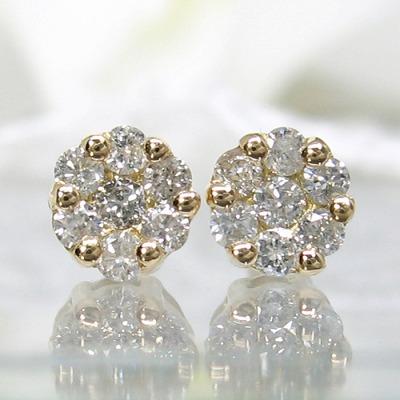 ダイヤモンド ピアス 0.3カラット 受注品 ダイヤピアス ダイヤピアス K18  ダイヤモンドピアス レディース スリーストーン 記念 ジュエリー アクセサリー お祝い ギフト 誕生日プレゼント 女性 贈り物 ダイアモンド