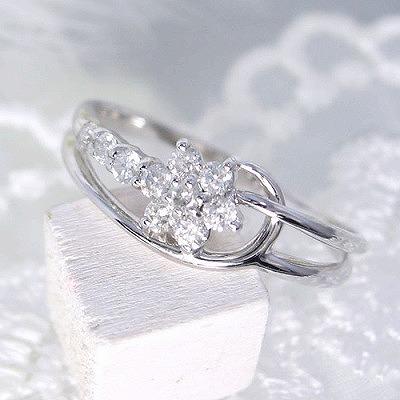 ダイヤモンド リング  ダイヤリング スイートテン 0.2カラット K18 ホワイトゴールド 【送料無料】【受注品】ダイヤモンドリング レディース シンプル 記念 ジュエリー お祝い ギフト 誕生日プレゼント 女性 贈り物 ダイアモンド セール