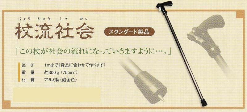 【受注生産】【寒杖奉行シリーズ】寒冷地用杖 ステッキ[杖流社会]