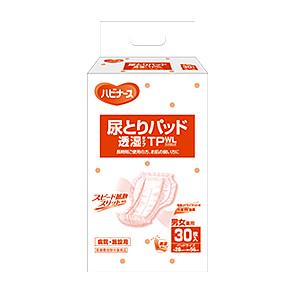 ピジョンタヒラ(ハビナース) 尿とりパッド透湿タイプTPWL(ワイドロング) 28×6cm 1箱180枚入(30枚×6袋) 男女共用