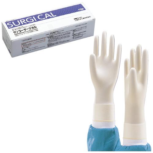 供三興化學工業手術使用的手套sankosajikaru 20雙入