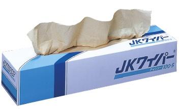 日本製紙クレシア JKワイパー100-S 100枚×18箱/ケース 470×425mm 62311