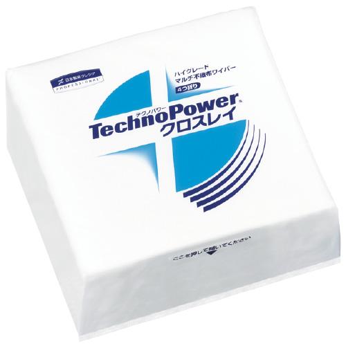 日本製紙クレシア テクノパワー クロスレイ 335×343mm 4つ折り 50枚×12袋/ケース 63260【送料・代引き手数料無料】