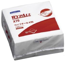 日本製紙クレシア ワイプオールX70 4つ折 50枚×18袋/ケース 335×343mm 60570 【送料・代引き手数料無料】
