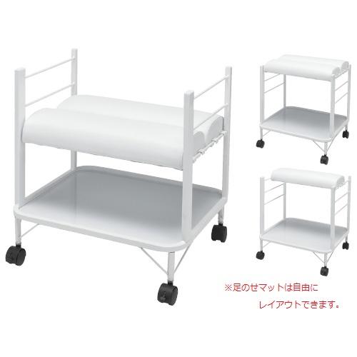 松吉 フットケアワゴン SN-FC001 W490×D400×H500mm