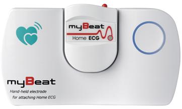 myBeatホームECG(携帯型心電計) 862-0010 【送料・代引き手数料無料】