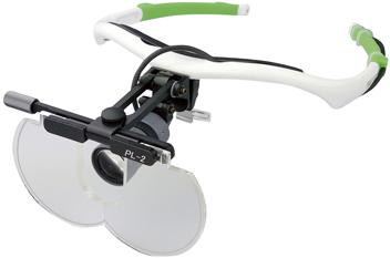 LED照明付プレートルーペ(Neoフレーム) PL2+NSI-3+Neo 【送料・代引き手数料無料】