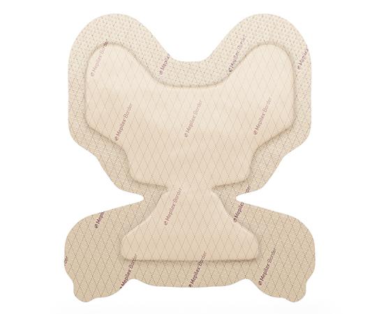 【皮膚保護パッド】メンリッケヘルスケア メピレックスボーダープロテクト かかと用 10枚入【送料・代引き手数料無料】