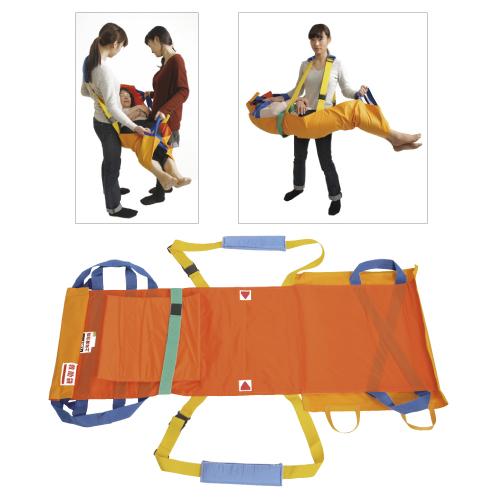 救護用ベルト式担架「ベルカ」(座り姿勢の保てない人用) SB-180 【送料・代引手数料無料】